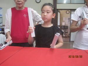 クワイア―チャイムの練習をしました。